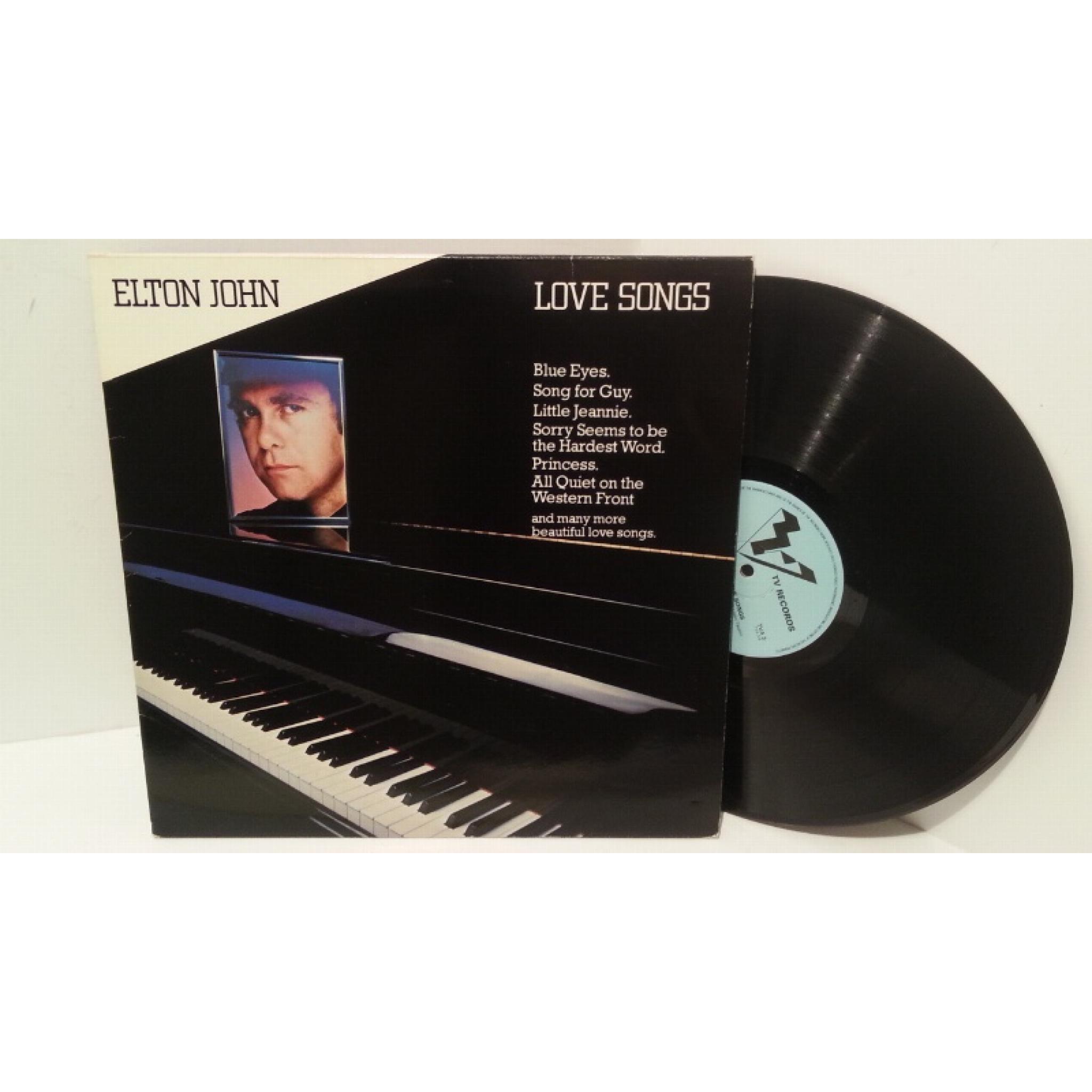 ELTON JOHN love songs, TVA 3
