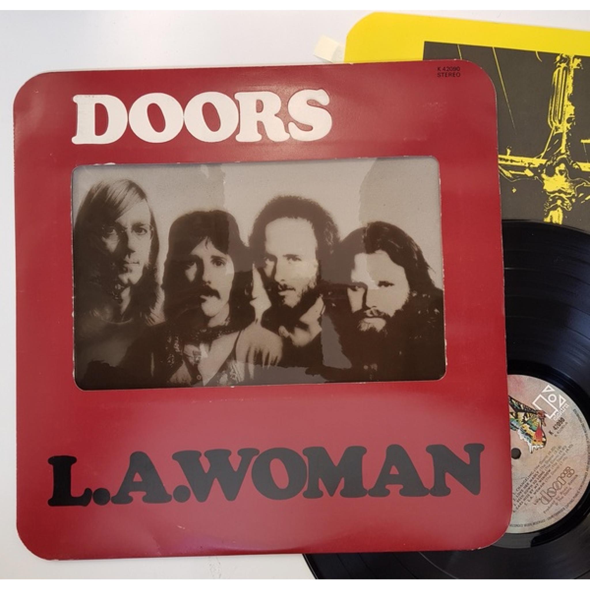THE DOORS L A Woman INCLUDING CROSS INNER EKS 75011