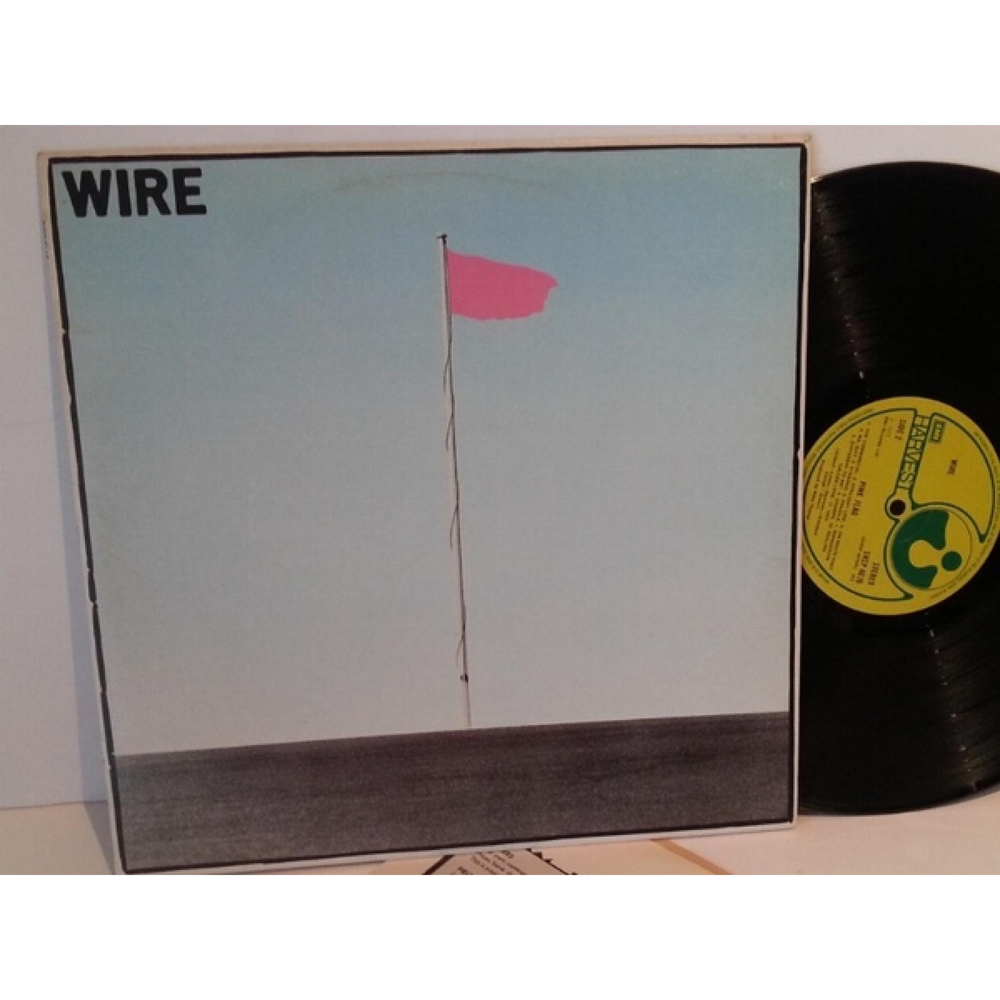 SOLD: Wire PINK FLAG