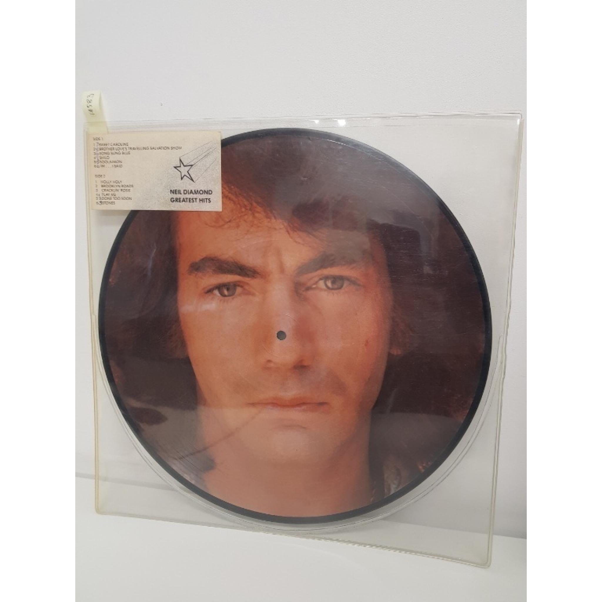 Neil Diamond His 12 Greatest Hits Picture Disc 5c P062 95373 12 Lp