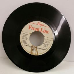 TAPPER ZUKIE she want a phensic (dangerous woman) / rastaman skank, 7 inch single, FLS 109