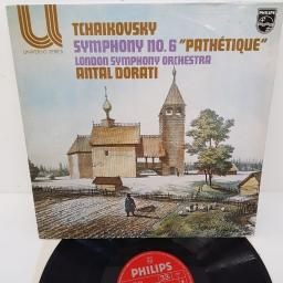 "Tchaikovsky ; London Symphony Orchestra, Antal Dorati ‎– Symphony No. 6 ""Pathetique"", 6582 014, 12"" LP"