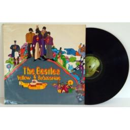 THE BEATLES, Yellow Submarine. UK pressing 1967.