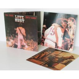NEIL YOUNG Crazy horse live rust Double album, on Tan Riverboat. UK pressing ...