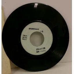 DON FLASH education, 7 inch single, SW 001