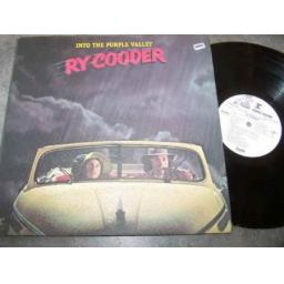 RY COODER LP, INTO THE PURPLE VALLEY