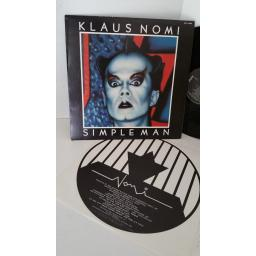 KLAUS NOMI simple man, KKL1-0488