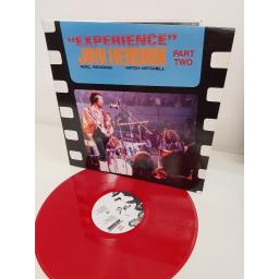 "JIMI HENDRIX, ""experience"" part 2, GET 608, 12"" LP. RED VINYL"