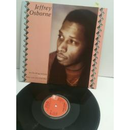 "JEFFREY OSBORNE on the wings of love 12"" single AMX198"