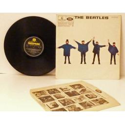 The Beatles HELP mono, black yellow.HELP, PMC 1255
