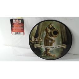 "MEATLOAF FEATURING MARION RAVEN it's all coming back to me now, 7"" picture disc, 1707713"