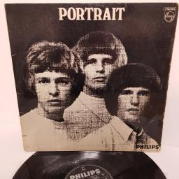 "THE WALKER BROTHERS, portrait, BL 7732, 12"" LP, mono"