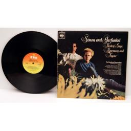 SIMON and GARFUNKEL, Parsley, Sage, Rosemary and Thyme. Top copy. 1966. Matri...