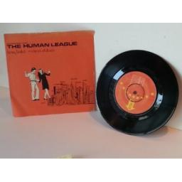SOLD : THE HUMAN LEAGUE being boiled, 7 inch single