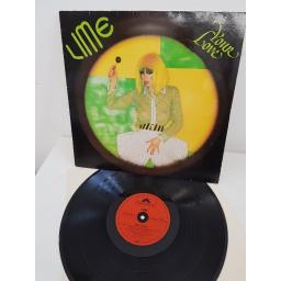 "LIME, your love, 2374 182, 12""LP"