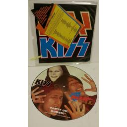 KISS god gave rock and roll to you ii, 12 inch single, picture disc, A8696TP