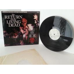 SOLD VARIOUS ARTISTS return of the living dead, vinyl LP