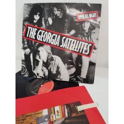 """THE GEORGIA SATELLITES, open all night, 960 793-1, 12"""" LP"""