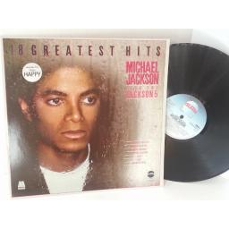 MICHAEL JACKSON PLUS THE JACKSON 5 18 greatest hits