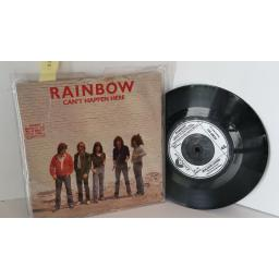 RAINBOW can't happen here, 7 inch single, POSP 251