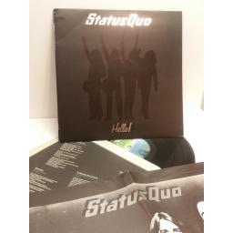STATUS QUO hello! WITH POSTER 6360098 DELUX