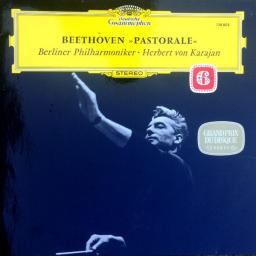 BEETHOVEN, side A symphony no.6 in F, op.68, side B symphony no.6 in F, OP68, 12'' LP