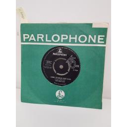 THE BEATLES, i want to hold your hand, side b this boy. 7XCE.17560, 7'' single.