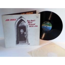 SOLD Jim Croce YOU DON'T MESS AROUND WITH JIM. SECOND PRESSING ON THE SPACESHIP VERTIGO LABEL