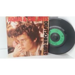 THE ORIGINAL ADAM AND THE ANTS deutscher girls, 7 inch single, EGO 5