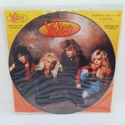 "VIXEN, how much love (LP version), B side wrecking ball + bad reputation, 12MTPD 87, 12"" single, picture disc"