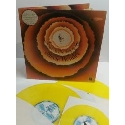 STEVIE WONDER songs from the key of life YELLOW VINYL WITH BOOK AND BONUS SINGLE.