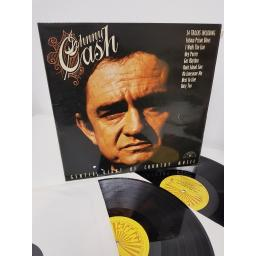 "JOHNNY CASH AND THE TENNESSEE TWO, gentle giant of country music, 6499 718, 2x12"" LP"