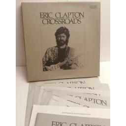 ERIC CLAPTON crossroads 6 RECORD EDITION BOX SET 835261-1