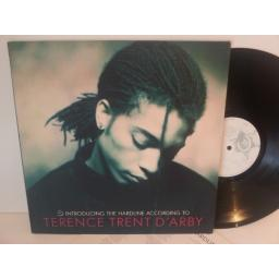 Terence Trent D'Arby INTRODUCING THE HARDLINE ACCORDING TO TERENCE TRENT D'ARBY