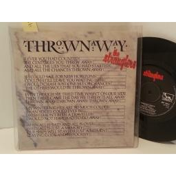"THE STRANGLERS thrown away, 7"" single, BP 383"