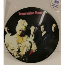 TRANSVISION VAMP pop art, limited edition picture disc, MCFP 3421