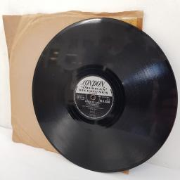 FATS DOMINO, blueberry hill, B side I can't go on, HLU 8330, 10 inch single, 78 RPM