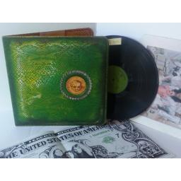 ALICE COOPER billion dollar babies, gatefold, K 56013, includes large dollar bill, and press out cards