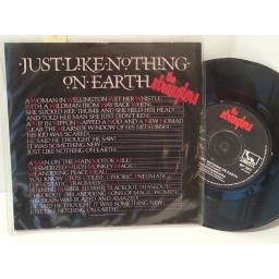 """THE STRANGLERS just like nothing on earth, 7"""" single, BP 393"""
