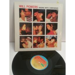 "WILL POWERS kissing with confidence 12"" single 12IS134"