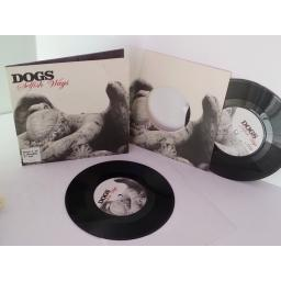 DOGS selfish ways, 7 inch single, double EP, gatefold. Part 1 of 2