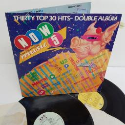 "NOW THAT'S WHAT I CALL MUSIC 5, NOW 5, 12"" LP, compilation"