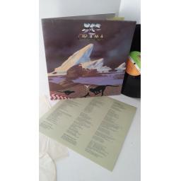 YES drama, K50736, gatefold, lyric insert