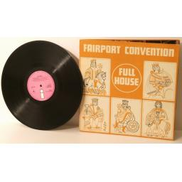 FAIRPORT CONVENTION, full house. PINK 'i'. Top copy. Very rare. First UK pres...
