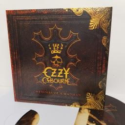 "OZZY OSBOURNE, memoirs of a madman, 88875015631, 2x12"" LP, limited edition picture disca"