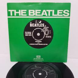 "THE BEATLES, yesterday, B side I should have known better, R 6013, 7"" single"