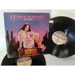 DONNA SUMMER on the radio - greatest hits vol 1 & II, double album, CALD 5008