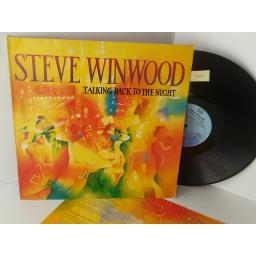 SOLD: STEVE WINWOOD talking back to the night, 204 771