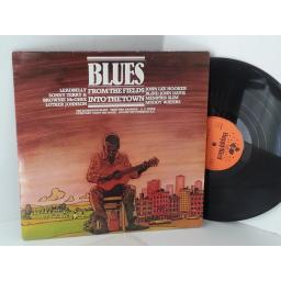 blues from the fields into the town LEADBELLY, HOOKER, MEMPHIS SLIM, WATERS, TERRY ETC, F/90 099