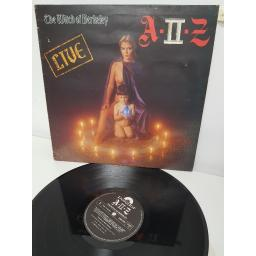 "A II Z, the witch of berkeley live , 2383 587, 12"" LP"